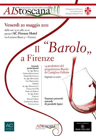 Evento AIS - Il Barolo a Firenze