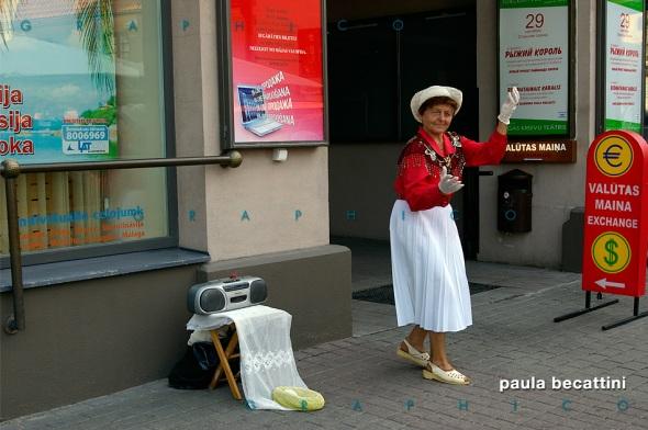 La ballerina di Parnu (Estonia)