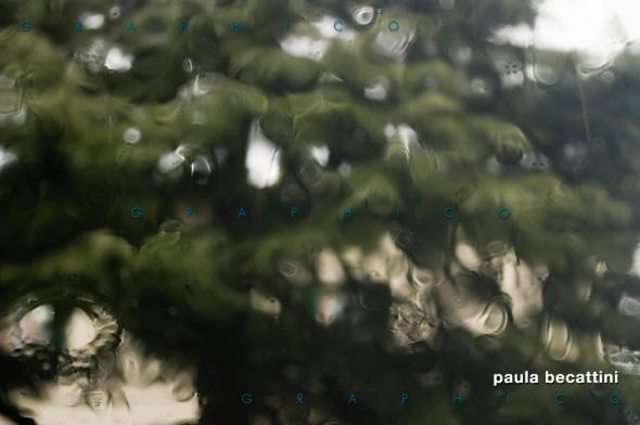 Pioggia su vetro