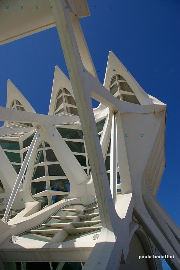 Valencia: particolare struttura