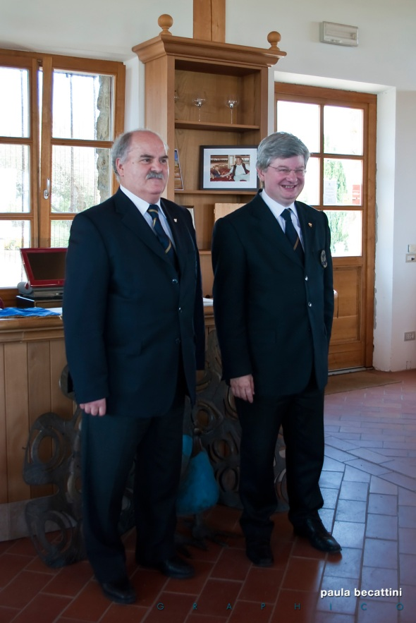 Leonardo Bartolommei e Massimo Castellani
