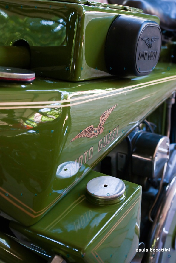 Serbatoio di un sottocanna - Moto Guzzi