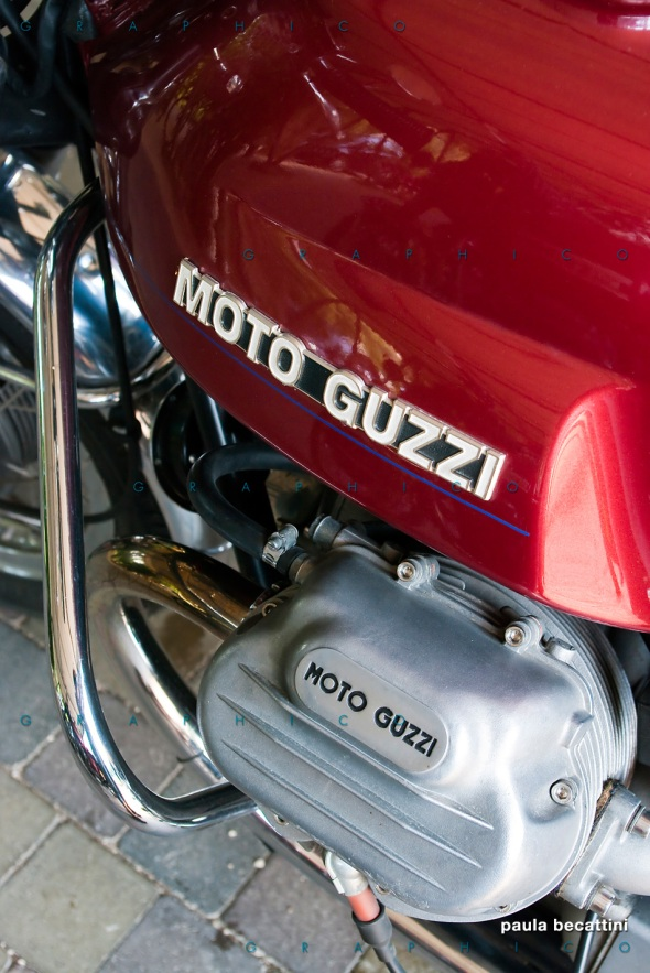 Serbatorio e testata - Moto Guzzi