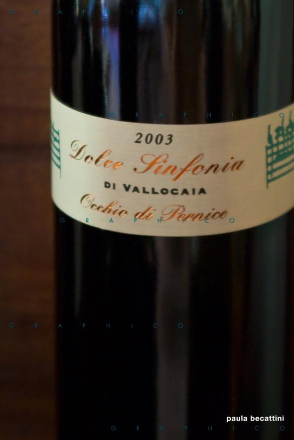 Vin Santo Colli dell'Etruria Centrale DOC - Dolce Sinfonia Occhio di Pernice 2003