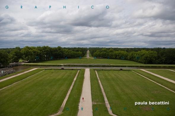 I giardini del Castello di Chambord (Loira, Francia)