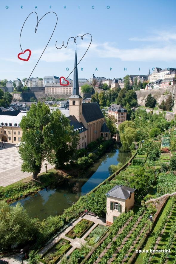 Lussemburgo: Abbazia di Neumunster e giardini