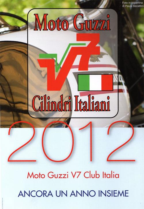 Moto Guzzi - Cilindri Italiani: calendario 2012