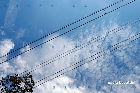 Cavi di acciaio sul cielo