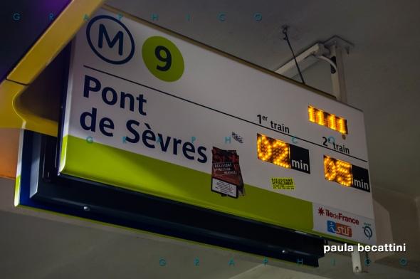 Ligne 9 du métro, Paris
