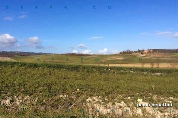 Campagna intorno a Sarteano (Si)