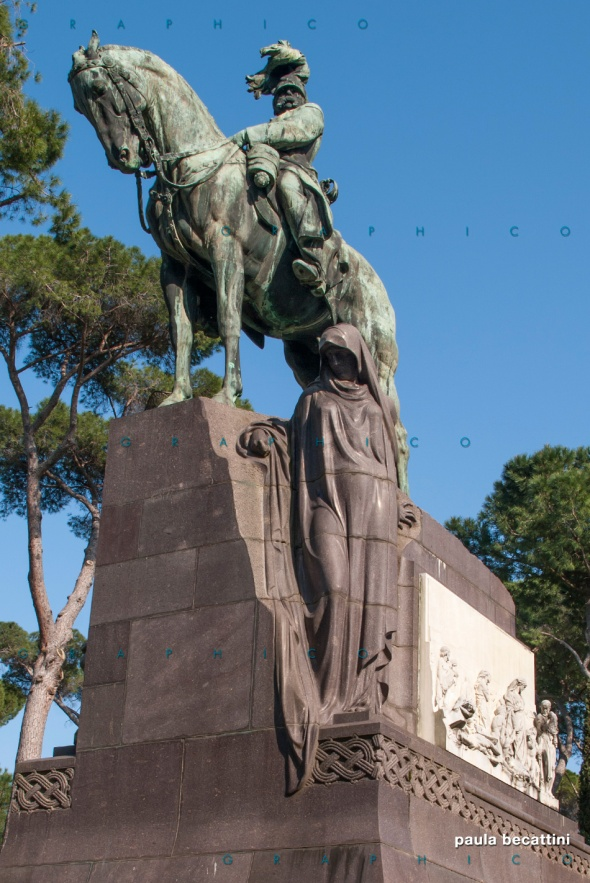 Umberto I Re d'Italia - Vialla Borghese (Roma)