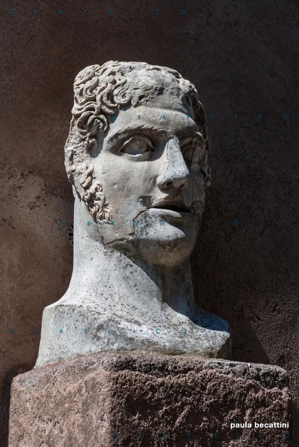 Castel Sant'Angelo, Roma - Testa