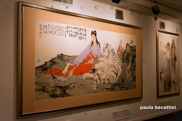 Un'opera di Fan Zeng in mostra a Roma nel 2015