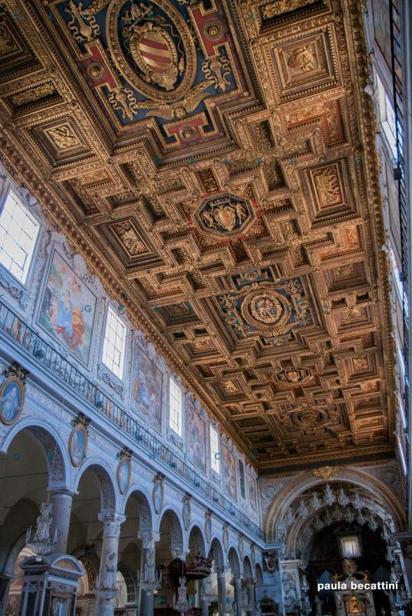 Basilica di Santa Maria in Aracoeli, Roma (interno)